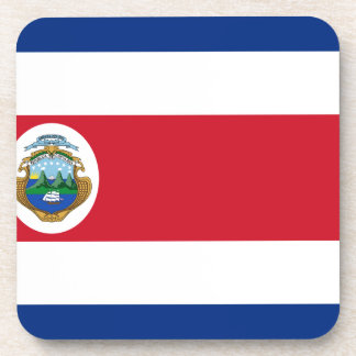 Low Cost! Costa Rica Flag Coaster