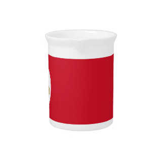Low Cost! Costa Rica Flag Drink Pitcher