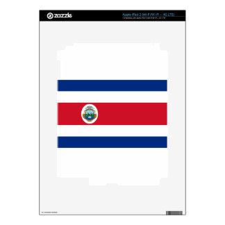 Low Cost! Costa Rica Flag iPad 3 Skin