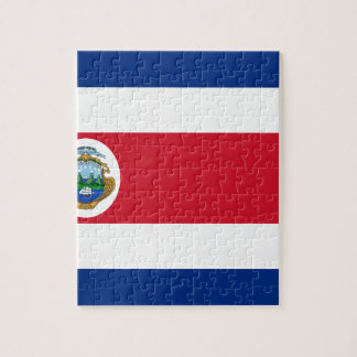 Low Cost! Costa Rica Flag Jigsaw Puzzle