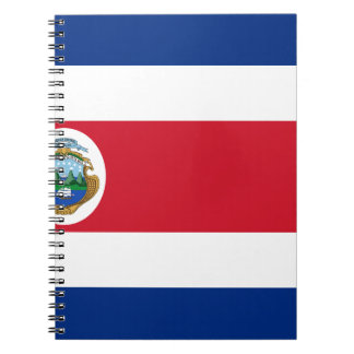 Low Cost! Costa Rica Flag Notebook