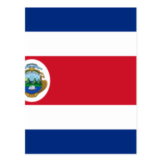 Low Cost! Costa Rica Flag Postcard