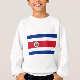 Low Cost! Costa Rica Flag Sweatshirt