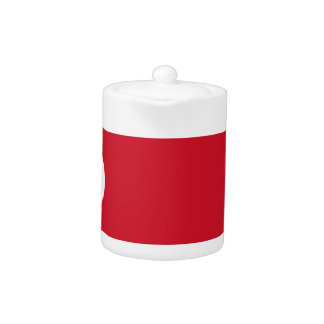 Low Cost! Costa Rica Flag Teapot