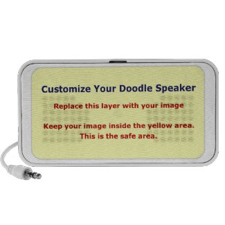 Low Cost Create Your Own Doodle Speaker Cover doodle