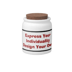 Low Cost Create Your Own Personal Candy Jar at Zazzle
