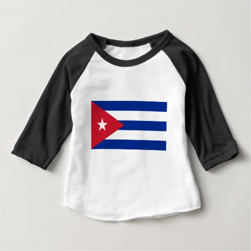 Low Cost Cuba Flag Baby T_Shirt