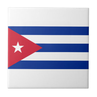 Low Cost! Cuba Flag Tile