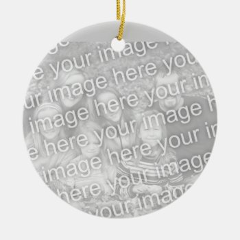 Low Cost Customizable Christmas Tree Ornament by DigitalDreambuilder at Zazzle
