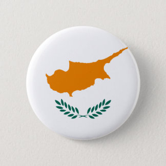 Low Cost! Cyprus Flag Button