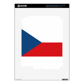 Low Cost! Czech Republic Flag Skins For iPad 3