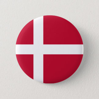 Low Cost! Denmark Flag Pinback Button