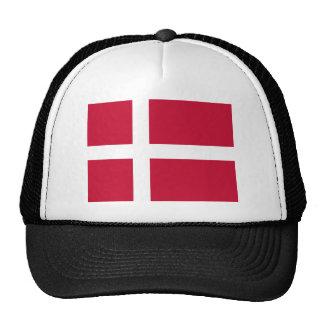 Low Cost! Denmark Flag Trucker Hat