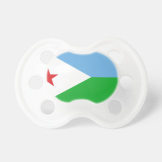 Low Cost! Djibouti Flag Pacifier