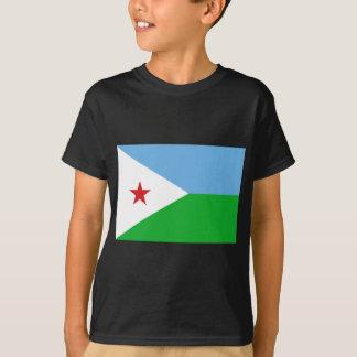 Low Cost! Djibouti Flag T-Shirt