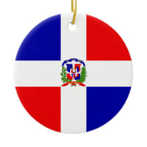 Low Cost! Dominican Republic Ceramic Ornament