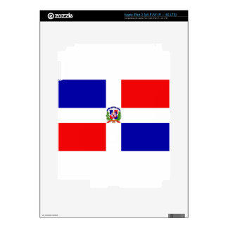 Low Cost! Dominican Republic Decals For iPad 3