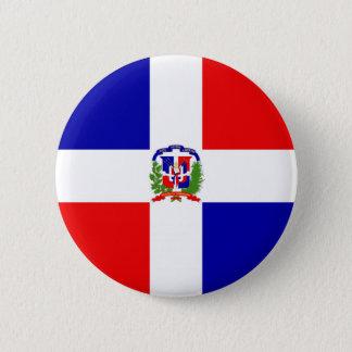 Low Cost! Dominican Republic Pinback Button