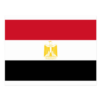 Low Cost! Egypt Flag Postcard