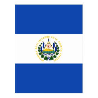 Low Cost! El Salvador Flag Postcard
