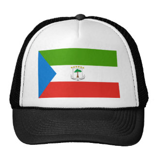 Low Cost! Equatorial Guinea Flag Trucker Hat