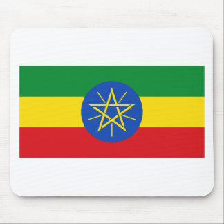 Low Cost! Ethiopia Flag Mouse Pad