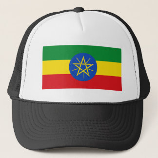Low Cost! Ethiopia Flag Trucker Hat