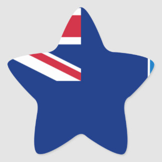 Low Cost! Falkland Islands Flag Star Sticker