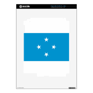 Low Cost! Federated States of Micronesia Flag iPad 2 Skin