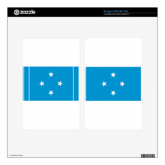 Low Cost! Federated States of Micronesia Flag Skins For Kindle Fire
