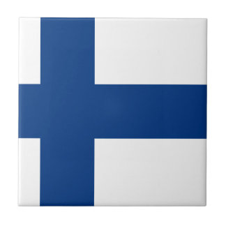 Low Cost! Finland Flag Ceramic Tile