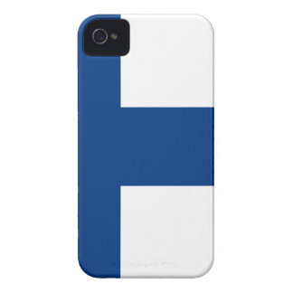 Low Cost! Finland Flag iPhone 4 Case-Mate Case