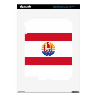 Low Cost! French Polynesia Flag iPad 3 Decals