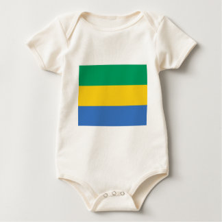 Low Cost! Gabon Flag Baby Bodysuit