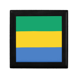 Low Cost! Gabon Flag Gift Box