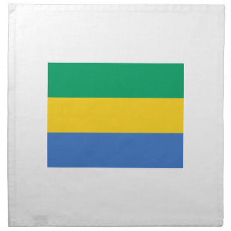 Low Cost! Gabon Flag Napkin