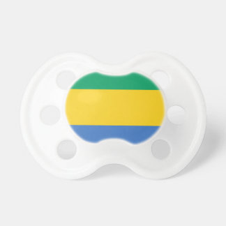 Low Cost! Gabon Flag Pacifier