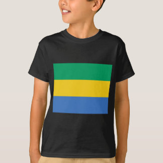 Low Cost! Gabon Flag T-Shirt