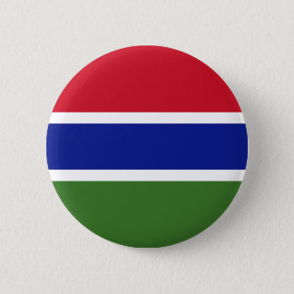 Low Cost! Gambia Flag Pinback Button