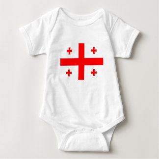 Low Cost! Georgia Flag Baby Bodysuit