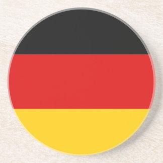 Low Cost! German Flag Drink Coaster