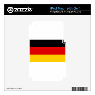 Low Cost! German Flag iPod Touch 4G Skins