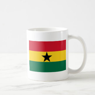 Low Cost! Ghana Flag Coffee Mug