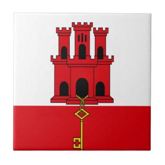 Low Cost! Gibraltar Flag Ceramic Tile