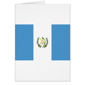 Low Cost! Guatemala Flag Card