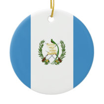 Low Cost! Guatemala Flag Ceramic Ornament