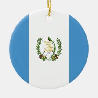 Low Cost! Guatemala Flag Ceramic Ornament