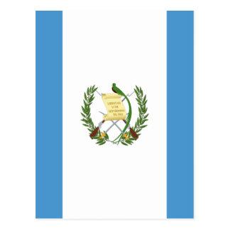 Low Cost! Guatemala Flag Postcard
