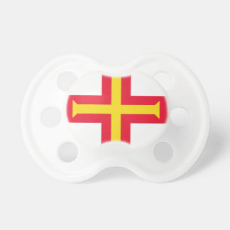 Low Cost! Guernsey Flag Pacifier