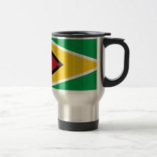 Low Cost! Guyana Flag Travel Mug